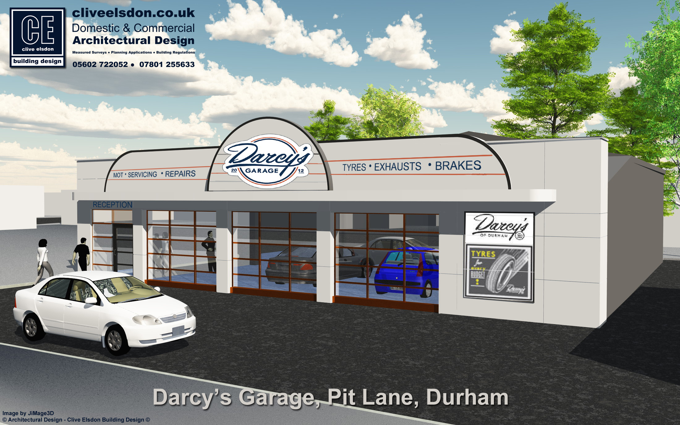 Darcy S Of Durham Face Lift To Former Ats Garage Pit