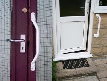 Grab Rails by Entrance Door