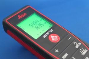 Leica DISTO D2 Laser Measuring Device used by Clive Elsdon Building Design for Building Surveys