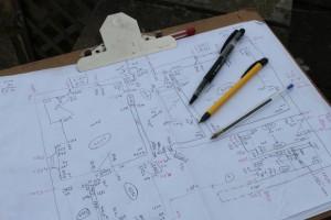 Survey Board Pens Pencil_used by Clive Elsdon Building Design
